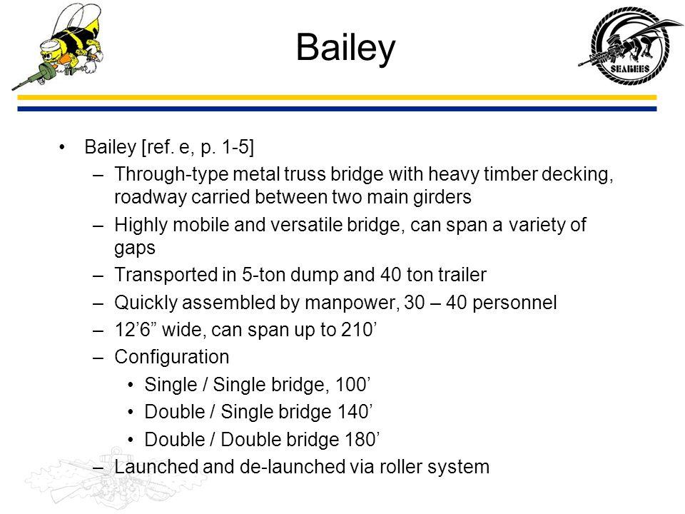 Bailey Bailey [ref. e, p. 1-5]